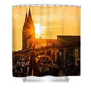 Paseo Del Carmen Shower Curtain