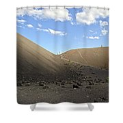 Passage Of Light And Dark Shower Curtain