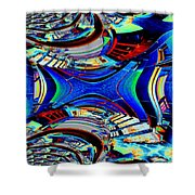Passageway Shower Curtain