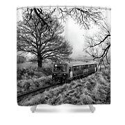 Passenger Train Travel Shower Curtain