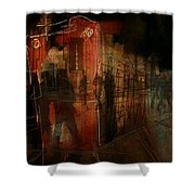 Passers In The Night Shower Curtain