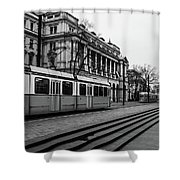 Passing. Shower Curtain