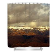 Passing Shadows Shower Curtain
