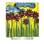 Passing Time 64 Shower Curtain