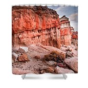 Passing Time At Red Rock Shower Curtain