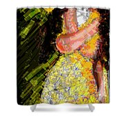 Passion And Love Shower Curtain