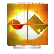 Passion And Power Shower Curtain