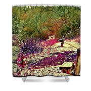 Passion Colors Everything  Shower Curtain