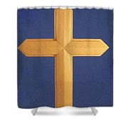 Passion Cross Shower Curtain