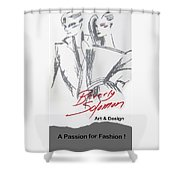 Passion For Fashion Shower Curtain