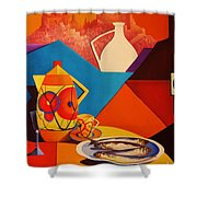 Passion For Life.2 Shower Curtain