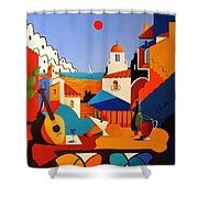Passion For Life Spain Shower Curtain