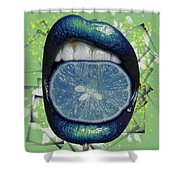 Passion Fruit Shower Curtain