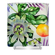 Passion In The Tropics Shower Curtain