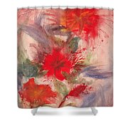 Passion In Three Shower Curtain