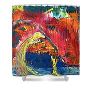 Passion Of The Summer Shower Curtain
