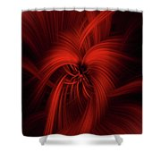 Passion Of Universe Shower Curtain
