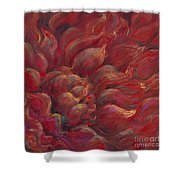 Passion V Shower Curtain