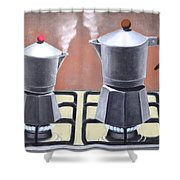 Passion   Weekday Shower Curtain