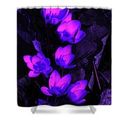 Passionate Blooms Shower Curtain