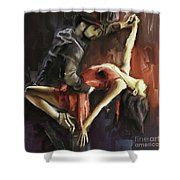 Passionate  Shower Curtain