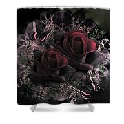 Passionate Roses 02 Shower Curtain