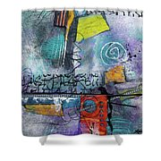 Passionate Time  Shower Curtain