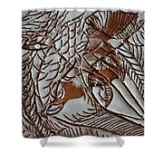 Passions - Tile Shower Curtain