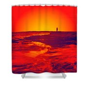 Passion's Envy Shower Curtain