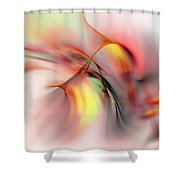 Passions Flame Shower Curtain