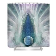 Passion's Pearl Shower Curtain
