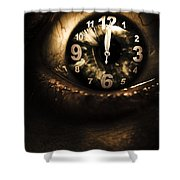 Past Lives Shower Curtain