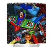 Past Memories Shower Curtain