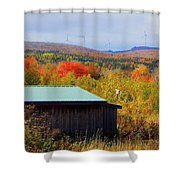 Past, Present And The Future Shower Curtain