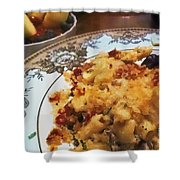 Pasta And Fruit Shower Curtain