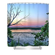 Pastel Clear Lake 3 Shower Curtain