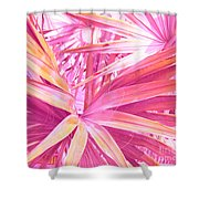 Pastel Dream In Pink Shower Curtain