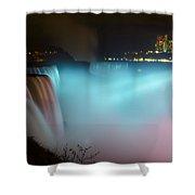 Pastel Falls Shower Curtain
