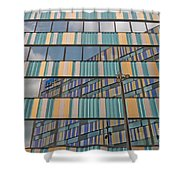 Pastel Flat Shower Curtain