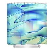 Pastel Flow Shower Curtain
