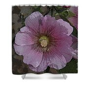 Pastel Flower Shower Curtain