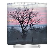 Pastel Fog Shower Curtain