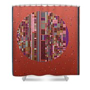 Pastel Globe 8-21-2015 #1 Shower Curtain