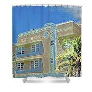 Pastel Hotel Shower Curtain