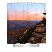 Pastel Point Shower Curtain