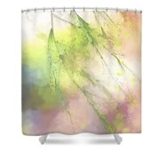 Pastel Spring Whispers Shower Curtain