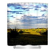 Pastel Sunset Shower Curtain