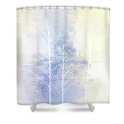Pastel Tree Dance Shower Curtain