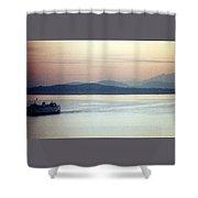 Pastel Water Shower Curtain