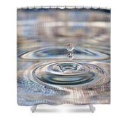 Pastel Water Sculpture 1 Shower Curtain